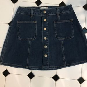 Jean skirt by altered state